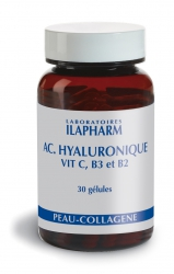 ACIDE HYALURONIQUE – VIT C, B3, B2
