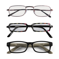 LOT DE 3 LOUPES DE LECTURE